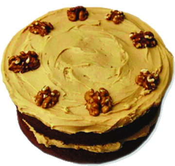 Buttered Layered Walnut Cake
